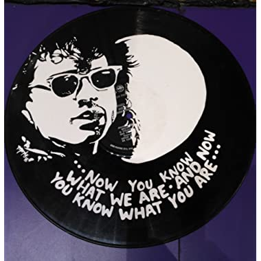 Hand painted Lost Boys vinyl record wall art