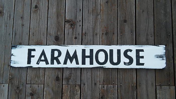 Farmhouse Sign, Farmhouse Signs Home Decor, Farmhouse Kitchen, Large  Farmhouse Signs, Distressed
