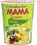 Mama - Vegetable flavour - Fideos orientales sabor a vegetales - 70 g - [Pack de 8]