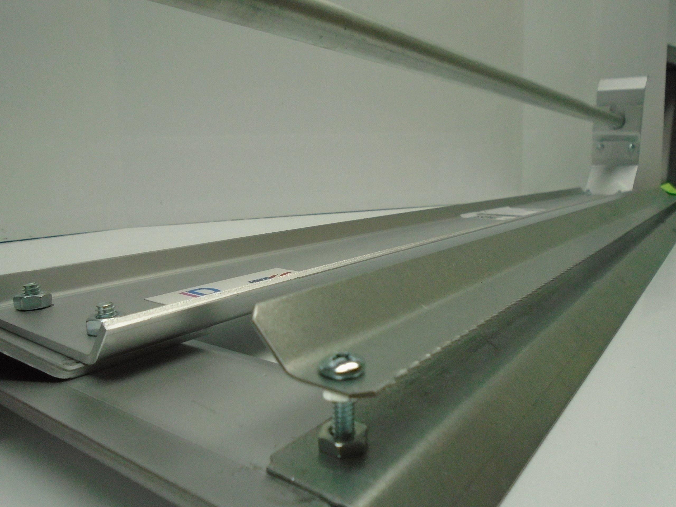 Paper Cutter Roll Dispenser Econoline 60 inches table mount Kraft paper Duralov by Duralov (Image #4)