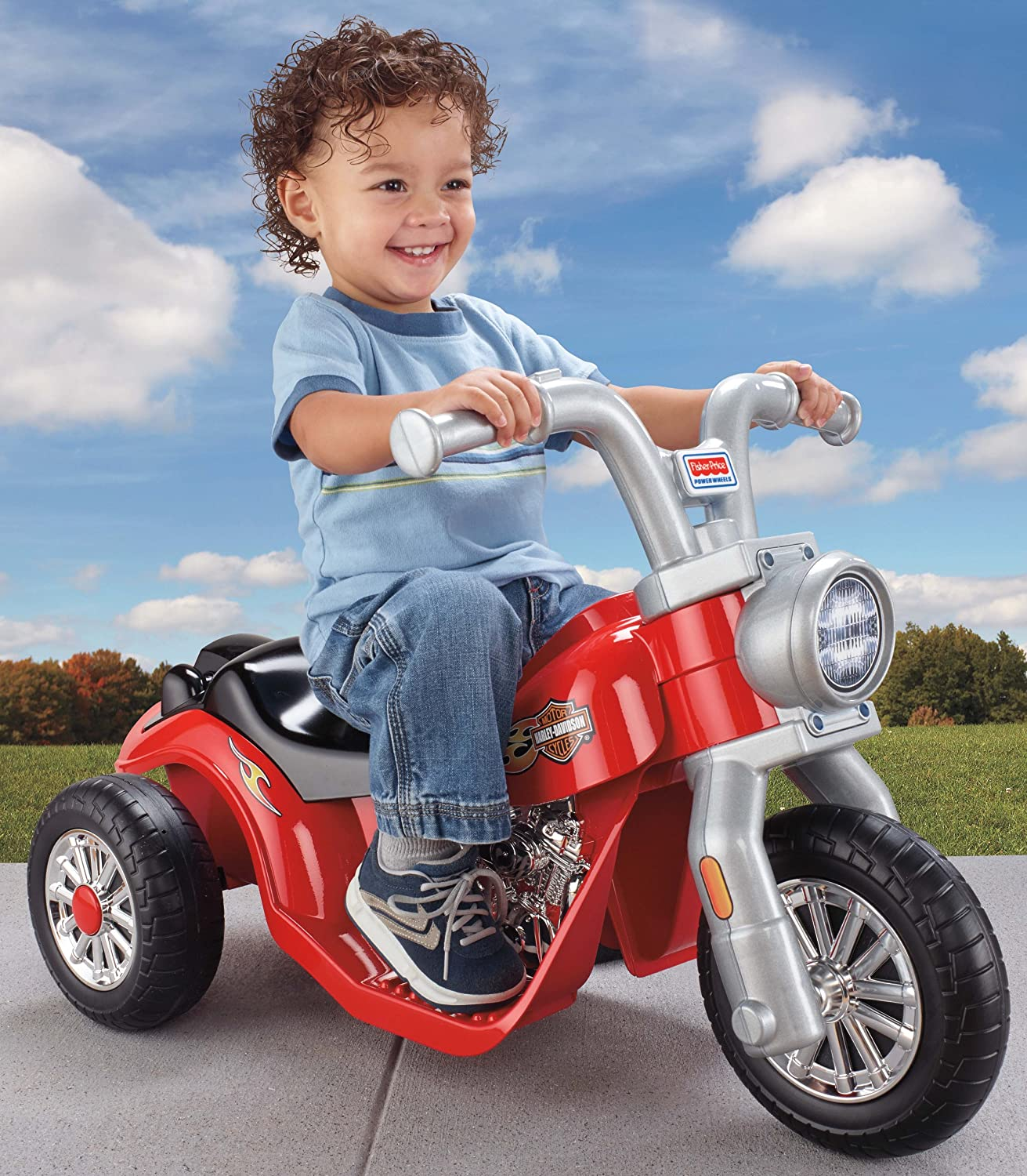 Amazon.com: Power Wheels Lil Harley: Toys & Games