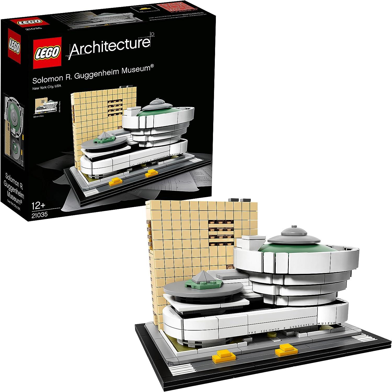 Lego Architecture-21035 Juego de construcción Museo Solomon R. Guggenheim (21035): Amazon.es: Juguetes y juegos