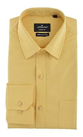 c1e63e2f1cc Appalon Men s Formal Shirt (AS 3049 - 01--XL