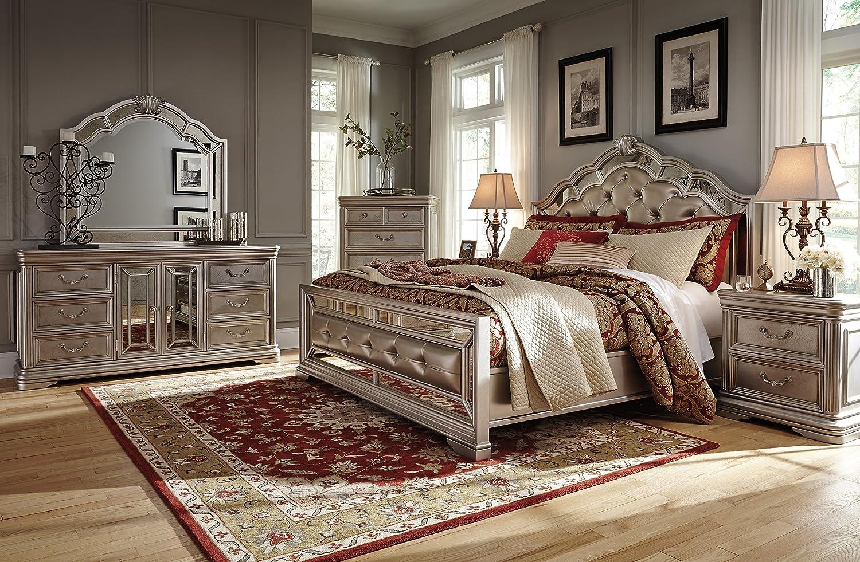 Ashley Birlanny Bedroom Set (6-PC King Bedroom Set)