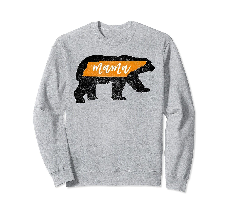 Womens Mama Bear Tennessee Flag Mom Sweatshirt Vintage-ah my shirt one gift