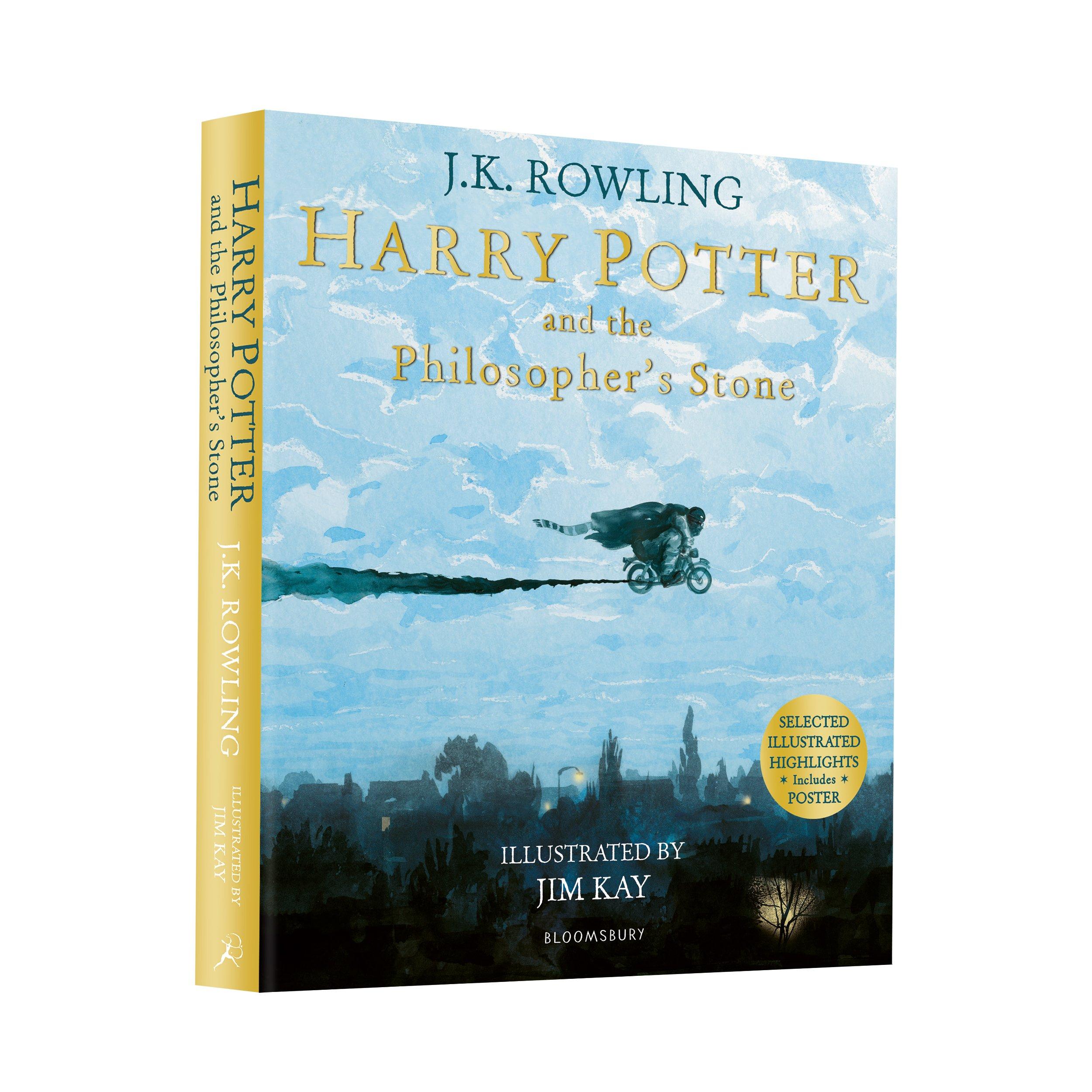 Harry Potter And The Philosopher Stone illust Harry Potter Illustrated  Edtn: Amazon.es: J K Rowling: Libros en idiomas extranjeros
