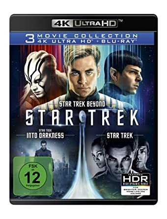 Star Trek 3 Movie Collection 4k Ultra Hd 3 Blu Ray 4k 3 Blu Ray