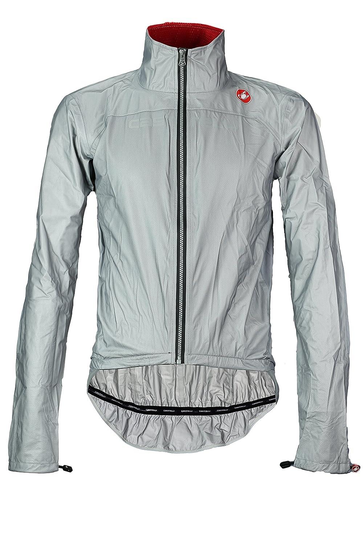 Castelli Tempesta Race Jacket – Men 's B012BQQX06 Medium|グレー グレー Medium