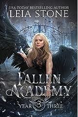 Fallen Academy: Year Three Kindle Edition
