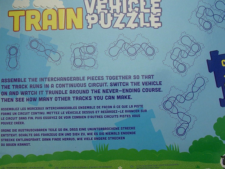 Train vehicle puzzle or jigsaw battery powered: Amazon.co.uk: Toys ...