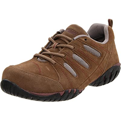 Rockport Work Women's RK617 Work Shoe,Addy Tan/Grey Suede,6 M US: Shoes