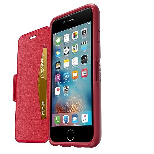 29 opinioni per OtterBox 77-53630 Symmetry Custodia per iPhone 6/6s, Rosso