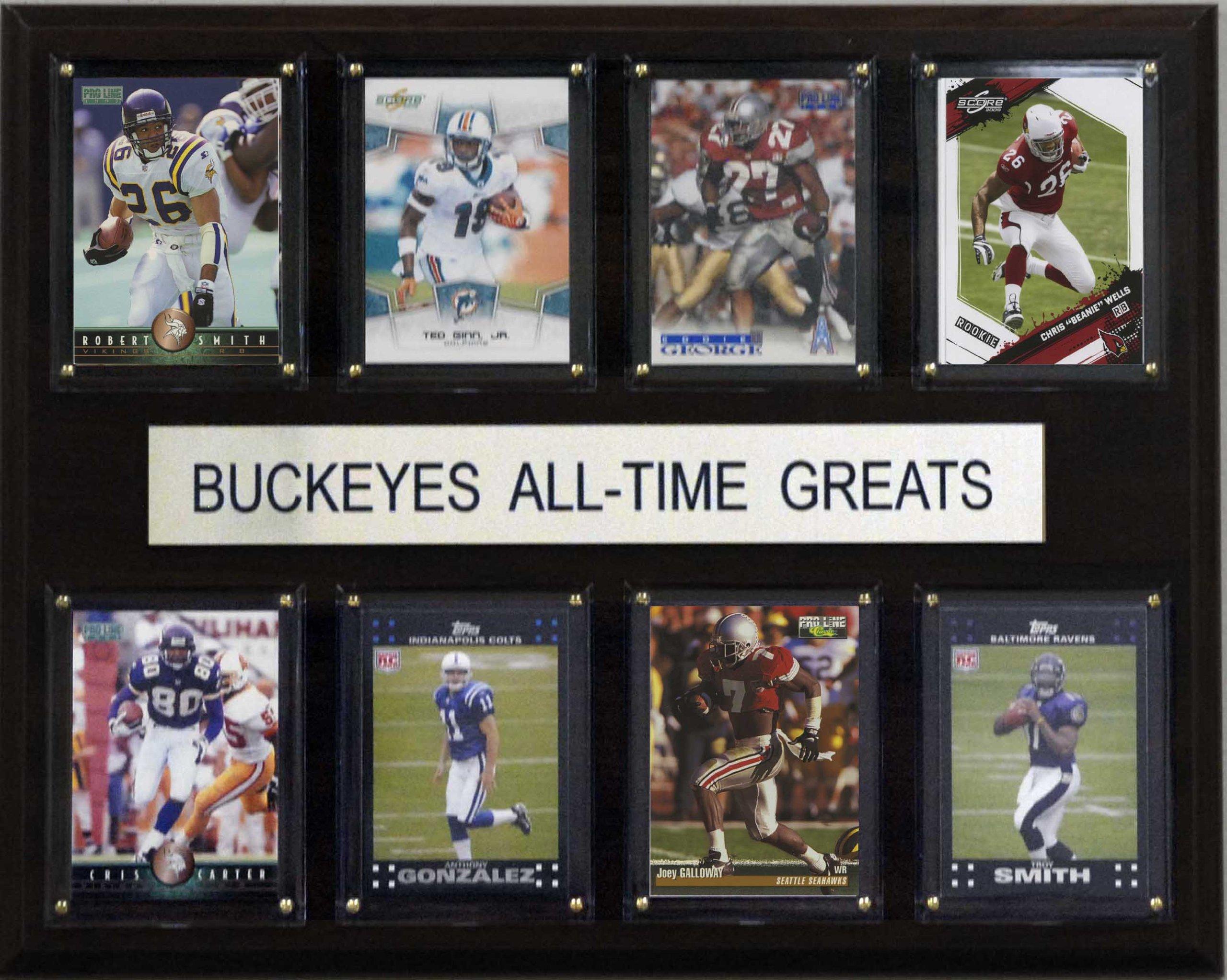 NCAA Football Ohio State Buckeyes All-Time Greats Plaque