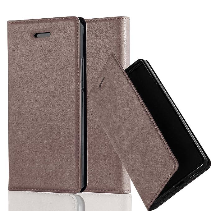 4 opinioni per Huawei P7 Custodia di Libro di Finta-Pelle in BRUNO CAFFÈ di Cadorabo (Disegno