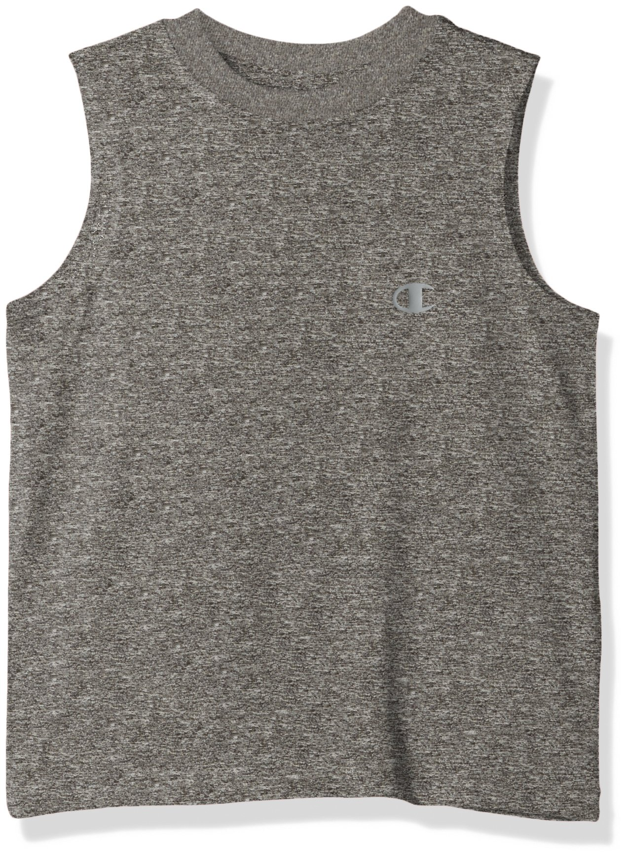 Champion  Little Boys' Performance Muscle Tank, Granite Heather, 5