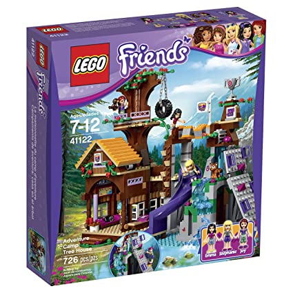 Amazon.com: LEGO Friends Adventure Camp Tree House 41122: Toys & Games