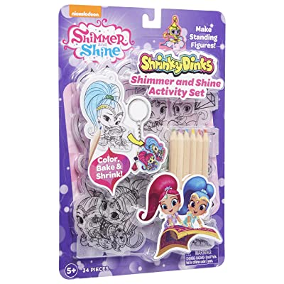 Shimmer and Shine Shrinky Dinks Activity Set: Toys & Games