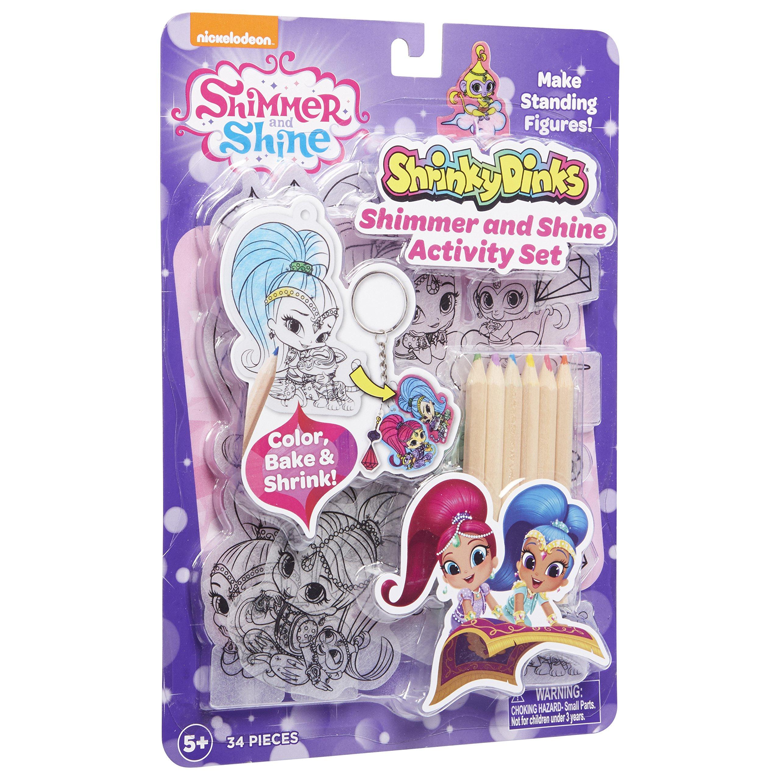 Shimmer and Shine Shrinky Dinks Activity Set