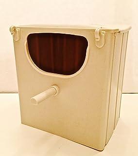 Pack of 1 Pet Ting Finch Nest Box 12X13X16H Bird Nesting Box