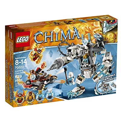 LEGO Chima 70223 Icebite's Claw Driller: Toys & Games