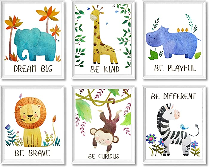 Top 9 Boygirlnursery Decor Unframed