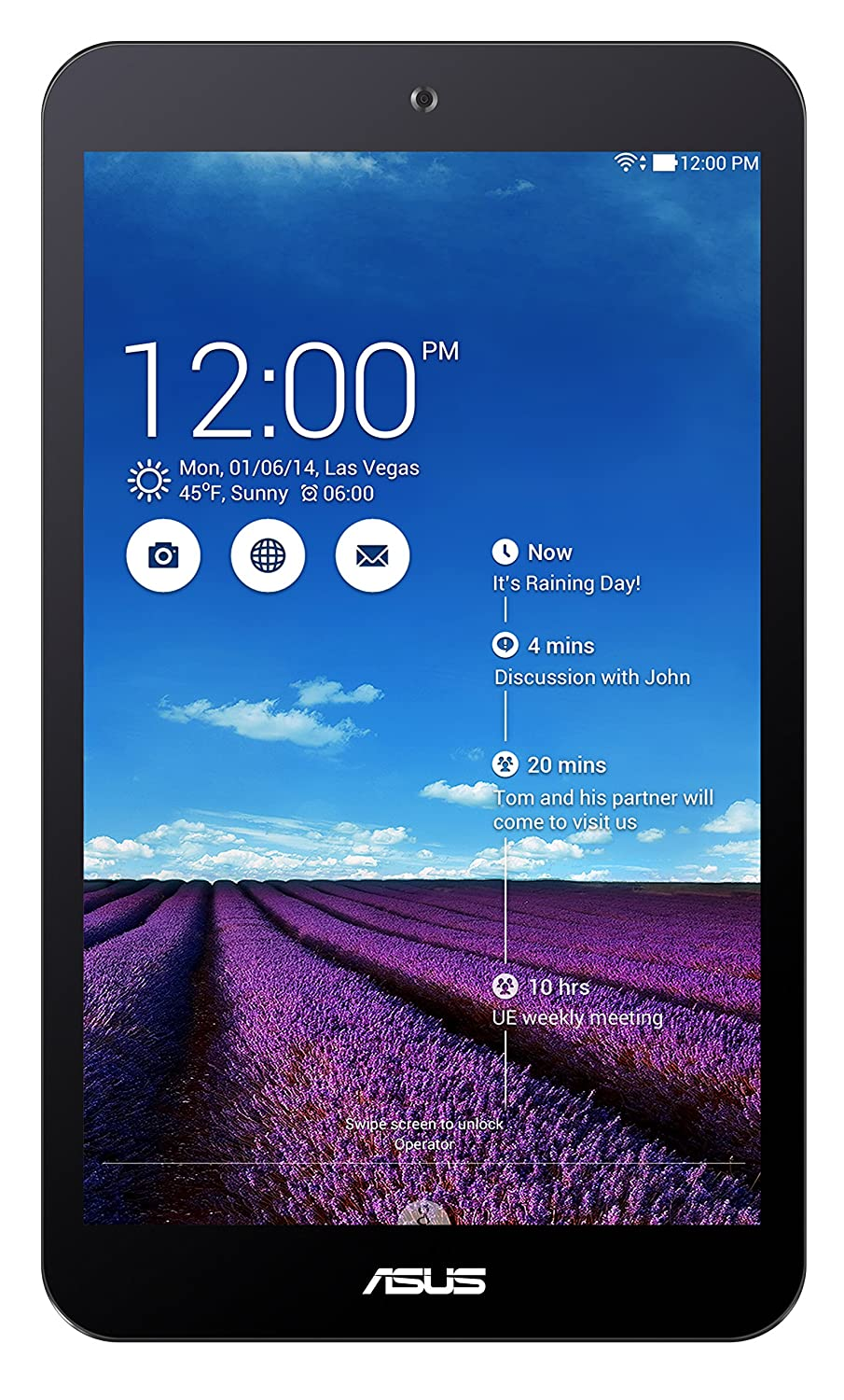 ASUS MeMO Pad 8 ME181C 16GB Purple - Tablet (Minitableta ...