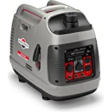Briggs & Stratton P2200 Power Smart Series Inverter Generator with Quiet Power Technology and Parallel Capability, 2200 Start