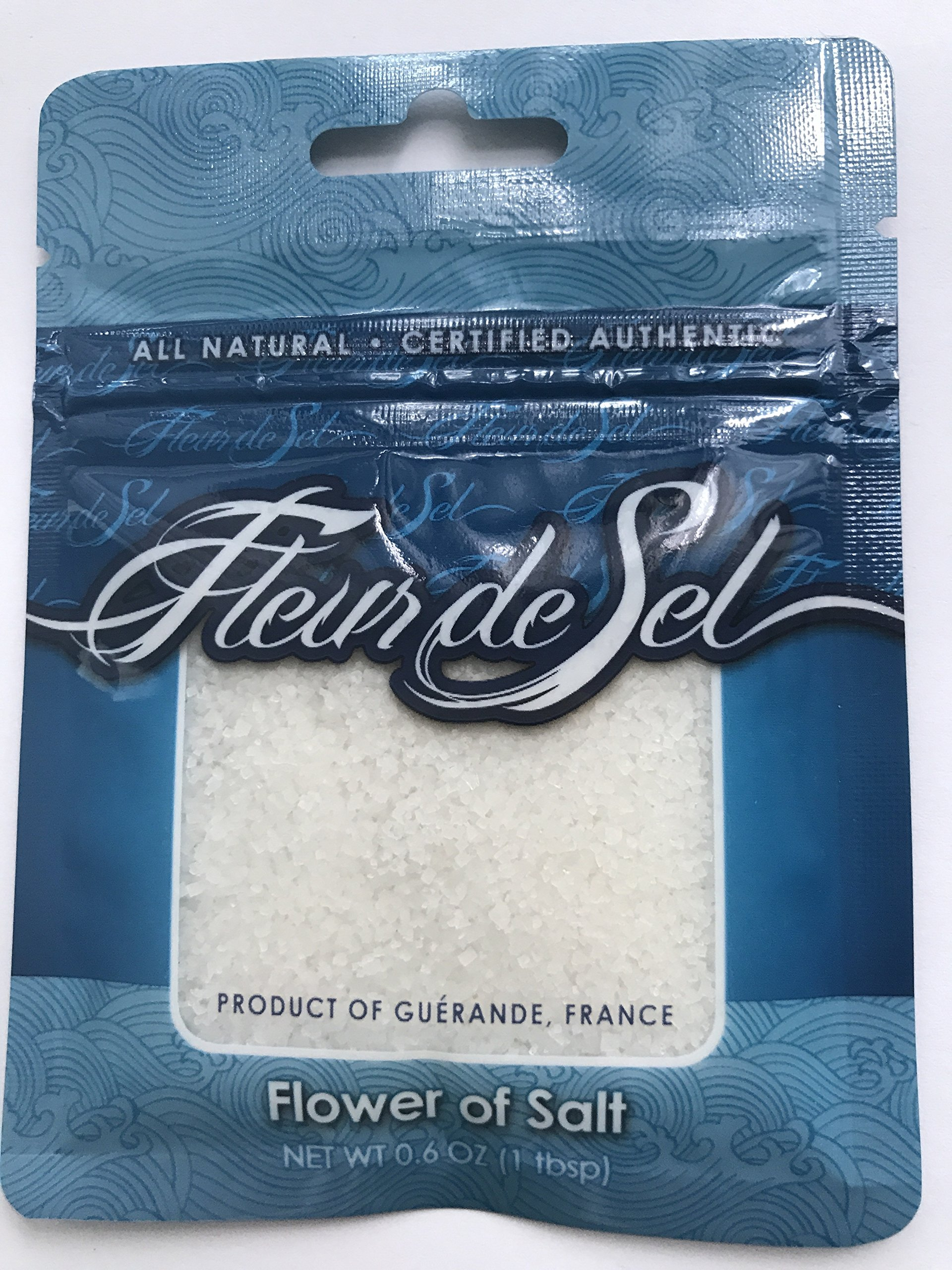SALTS OF THE WORLD COLLECTION Six-Pack Salt Collection-KOSHER CERTIFIED by 0.6 oz each pouch.