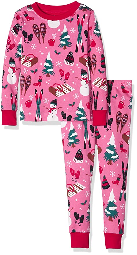 Toddler Girl Vintage Kids Holiday Pajamas
