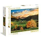 Clementoni - 33545 - Puzzle - High Quality Collection - The Alps - 3000 Pièces