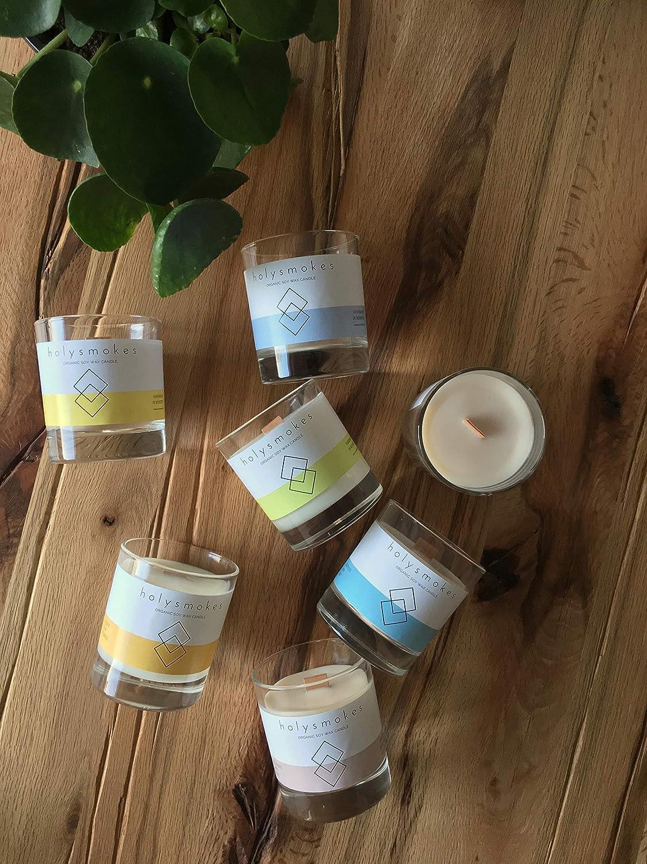Zedernholz und Kr/äuter Nat/ürliche Holzdocht Sojawachs Kerze,Cozy Cocoa VEDALIGHTS Bookish Candle Kerze mit /Ätherischen /Ölen und Duft/ölen