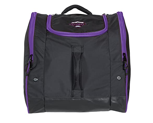 Sportube Freerider Padded Gear and Boot Bag, Black/Purple by Sportube