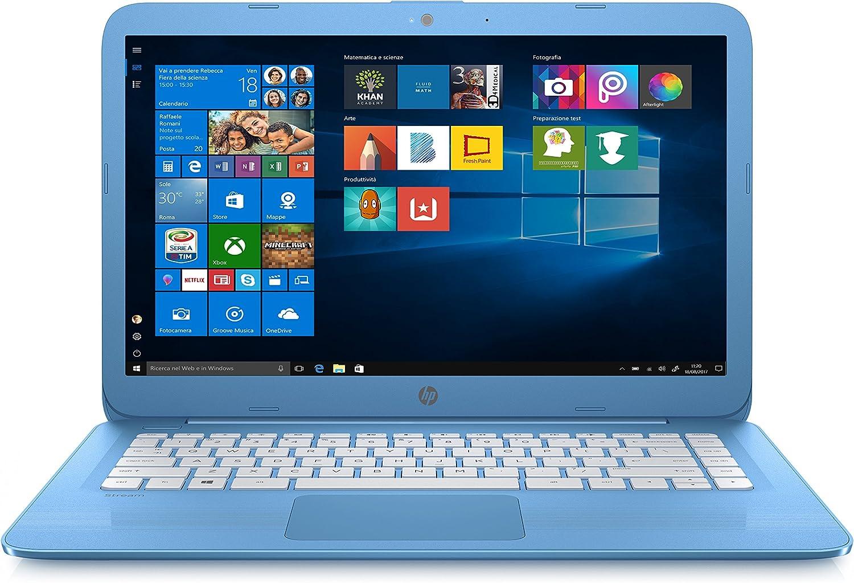 HP Stream 14-ax004nl Azul Portátil 35,6 cm (14