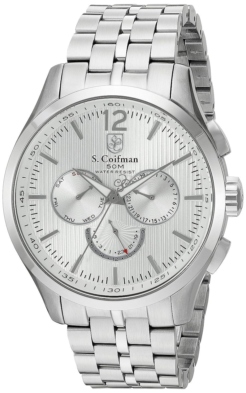 S.Coifman Herren- Armbanduhr Chronograph Quarz SC0126