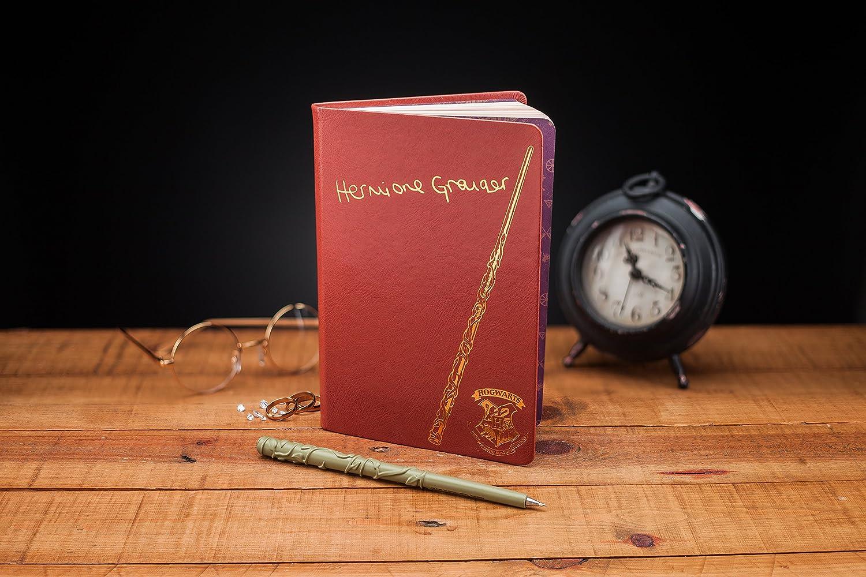 Harry Potter PP4216HP Hermione - Cuaderno y bolígrafo: Amazon ...
