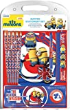 Minions Stationery Set Minion Mania Bumper Pen & pencil notebook Official One Size