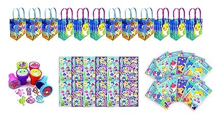 Amazon.com: TINYMILLS - Juego de 60 bolsas de regalo (12 ...