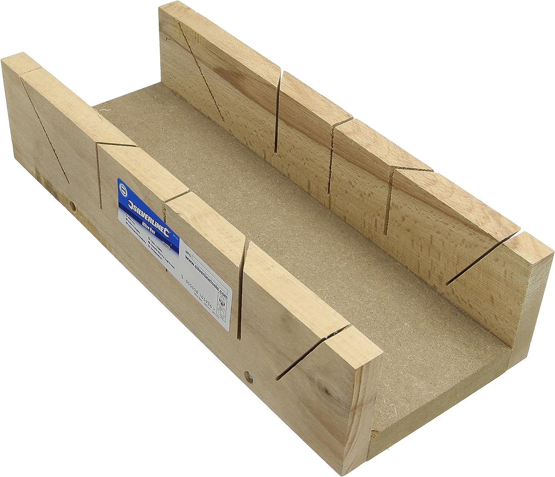 Silverline 991703 - Caja de inglete (365 x 110 mm): Amazon.es ...
