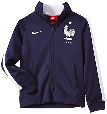 low cost nice shoes size 40 Nike FFF N98 Authentic International Veste de survêtement Garçon Midnight