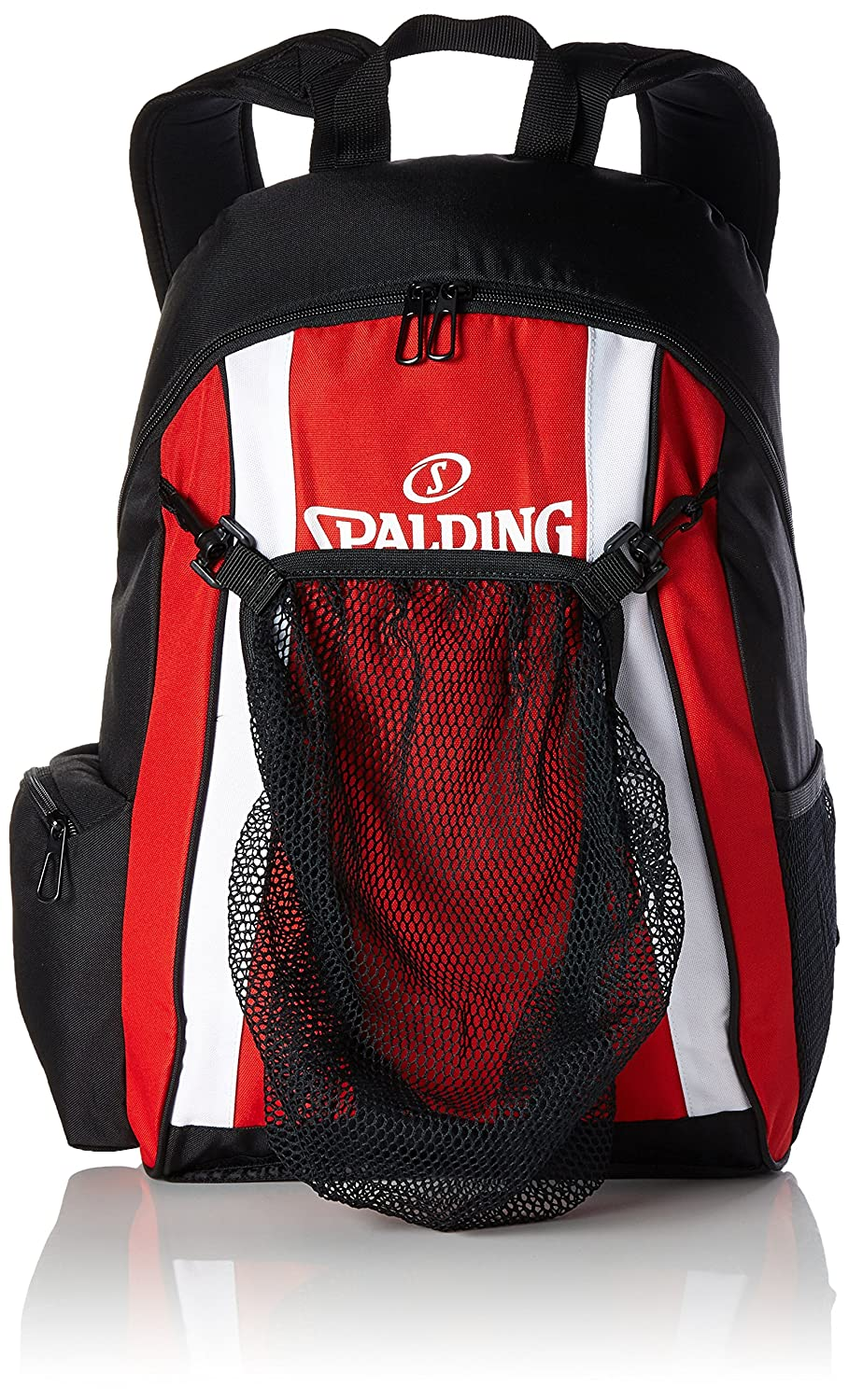 Spalding Funda Backpack, Color Rojo, Negro y Blanco, tamaño 47 x 39 x 19 cm, 35 Liter, Volumen Liters 35.0 300453202