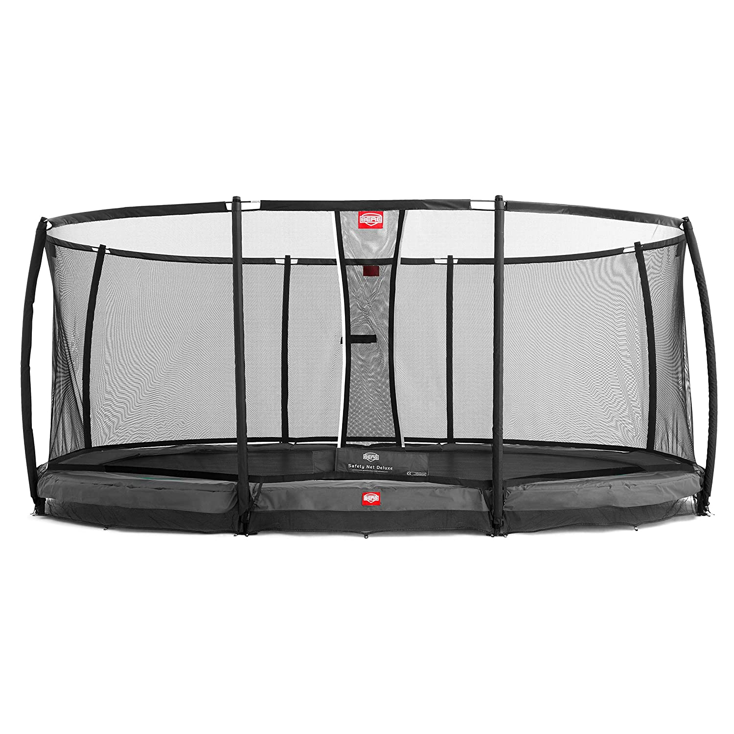 Berg Cama elástica Inground EASYFIT Color Gris con Red de ...