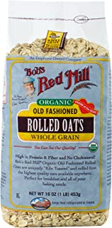 product image for Bob's Red Mill Organic Oats Rolled Regular, 16 Ounce (Pack of 4)