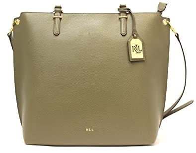 bc7735a1829f Amazon.com: Ralph Lauren Anfield Abby Tote Medium (Sage): Shoes