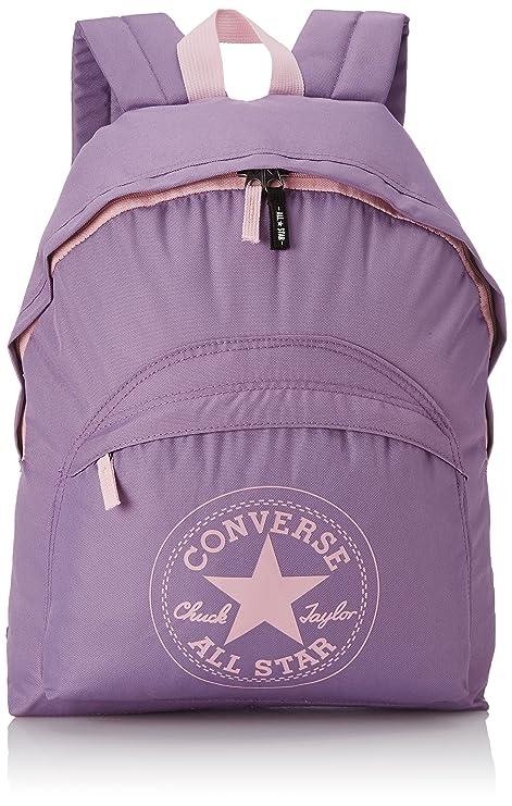 Converse SA410363-A16 - Mochila Escolar Converse, color Lila, 34 x 44 cm
