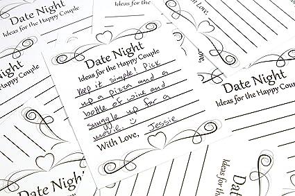 Amazon Date Night Idea Card Game For Wedding Reception Bridal