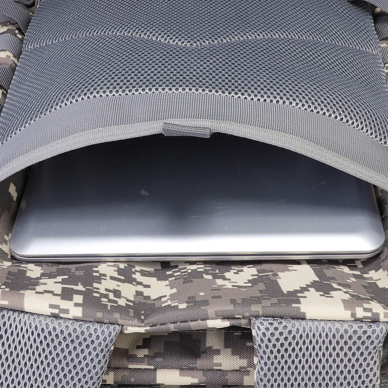 cbbab9d09b2a ミリタリータクティカルバックパックのサイズ約 :13インチ×20インチ×11インチ/33×50.5×28cm  (幅×高さ×奥行き)。容量:40リットル。ミリタリーバックパックは600×600の ...