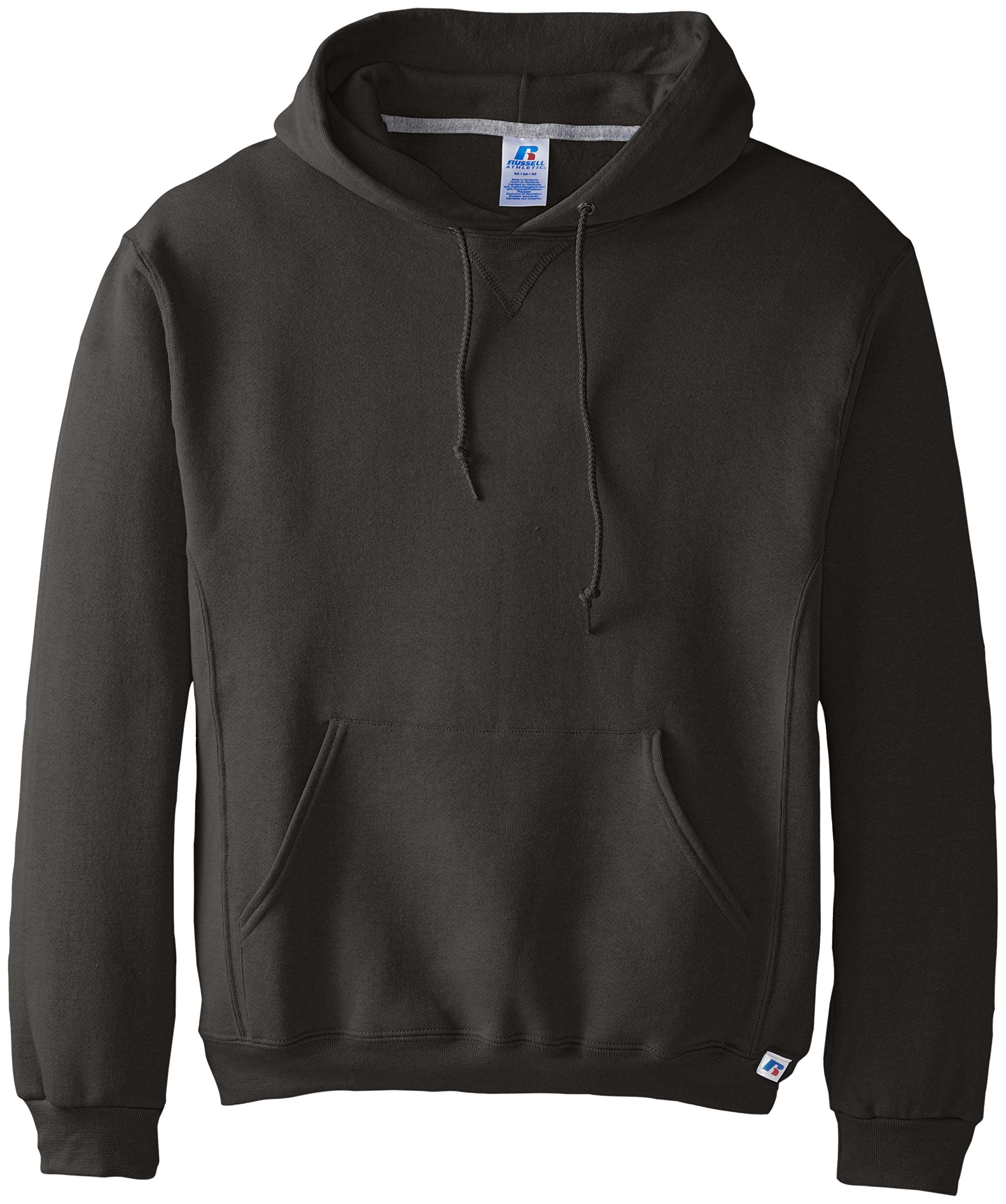 Russell Athletic Men's Dri Power Pullover Fleece Hoodie, Black, 4X-Large