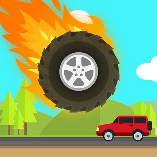 Bouncing Wheel - Highway Monster