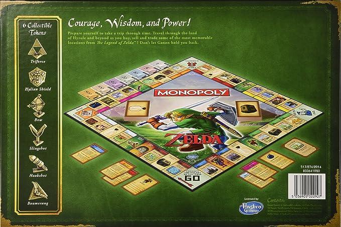 Monopoly Legend of Zelda: Amazon.es: Juguetes y juegos