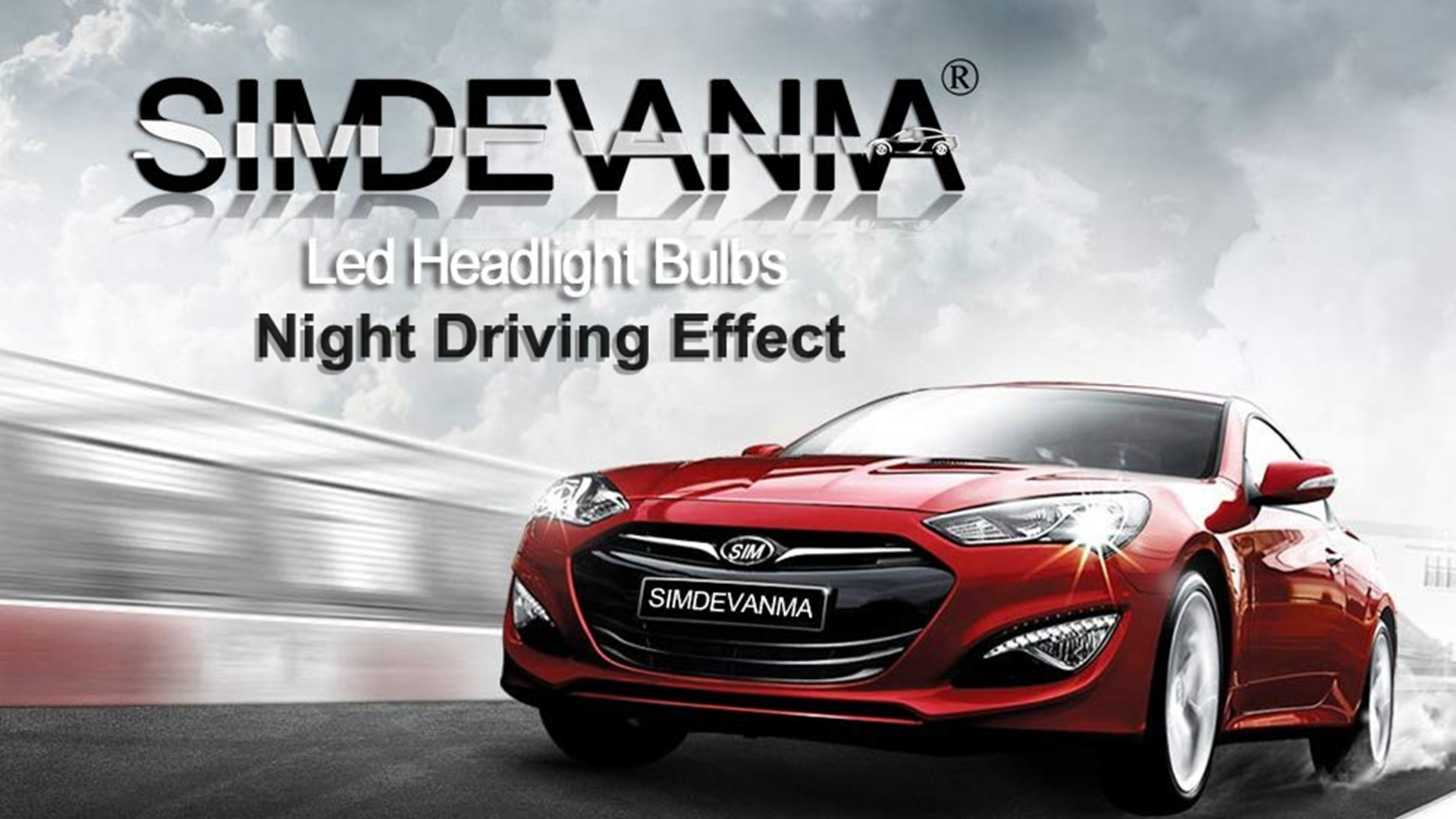 Simdevanma H4 9003 Hb2 Led Headlight Bulbs Kit Apply To